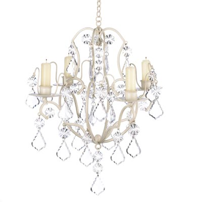 Ivory Baroque Candle Chandelier Wholesale At Koehler Home Decor