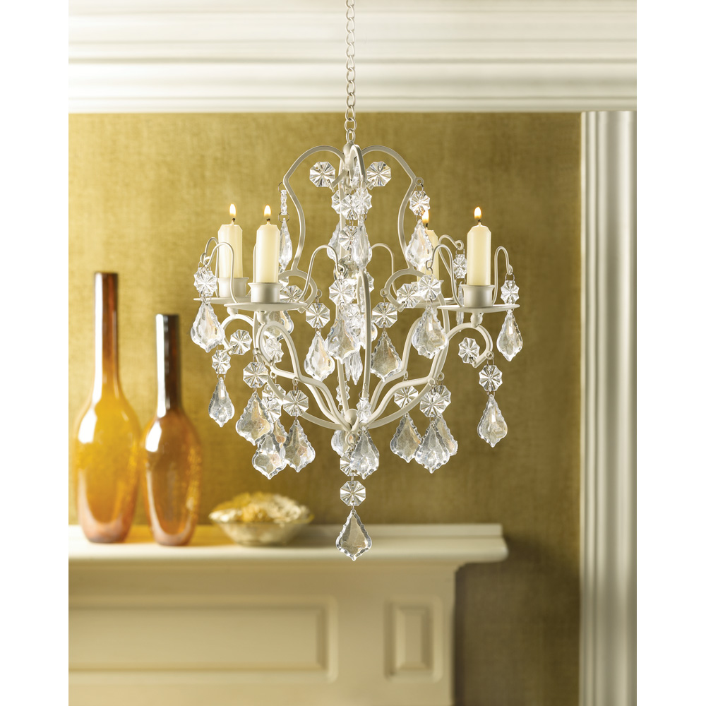 Ivory baroque candle chandelier wholesale at koehler home for Baroque home accessories