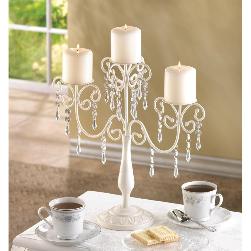 Wholesale Home Interiors: Ivory Elegance Candleabra Wholesale At Koehler Home Decor