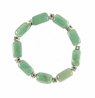 Jade Bead Stretch Bracelet