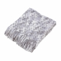 Knitted Chenille Throw Blanket
