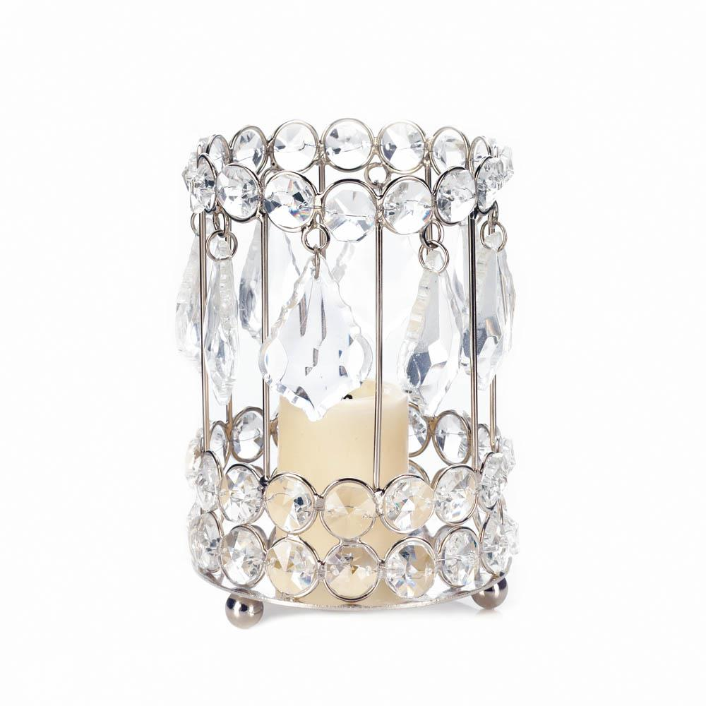 Large crystal drop candle holder wholesale at koehler home Crystal home decor