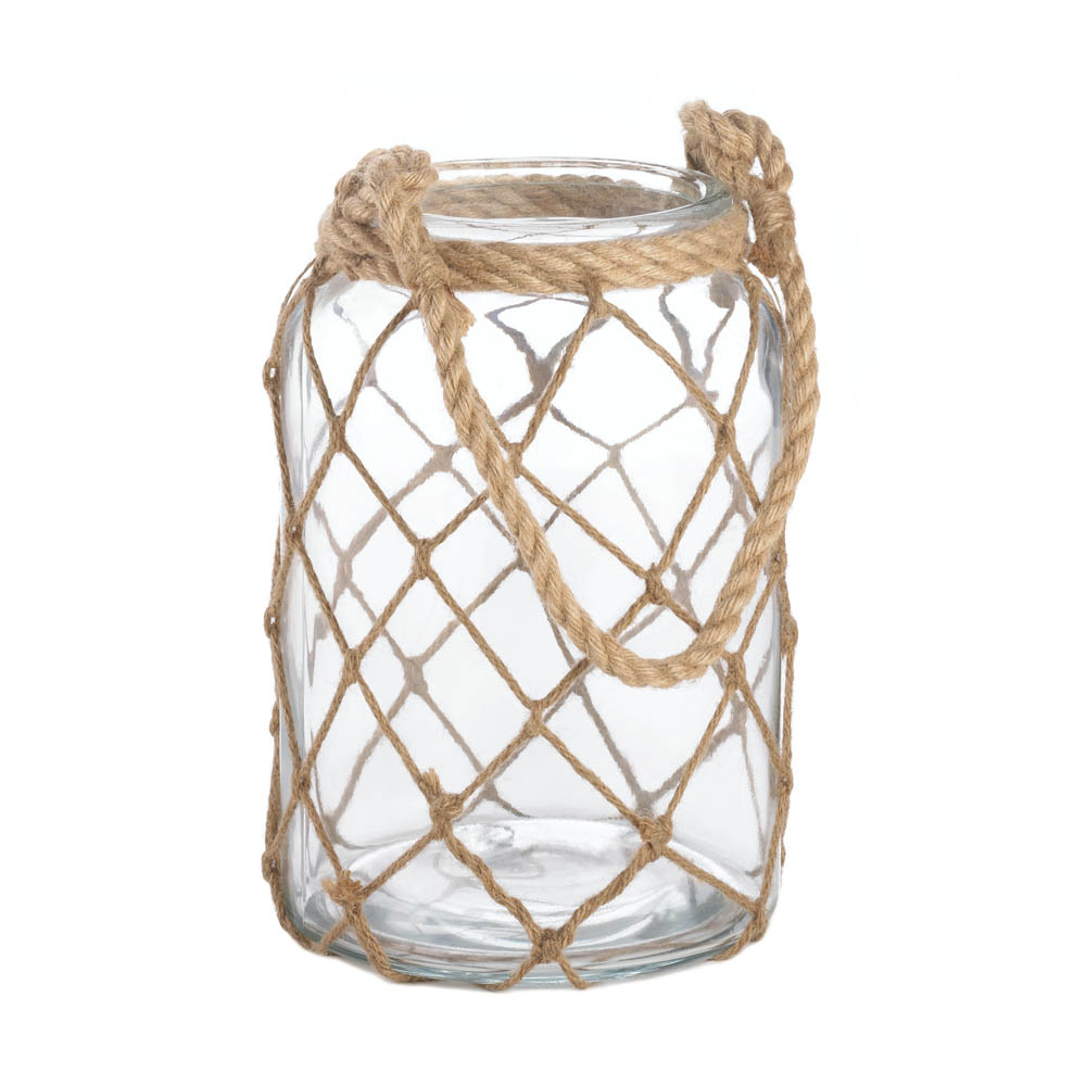 Large Fisherman Net Candle Lantern Wholesale at Koehler Home Decor
