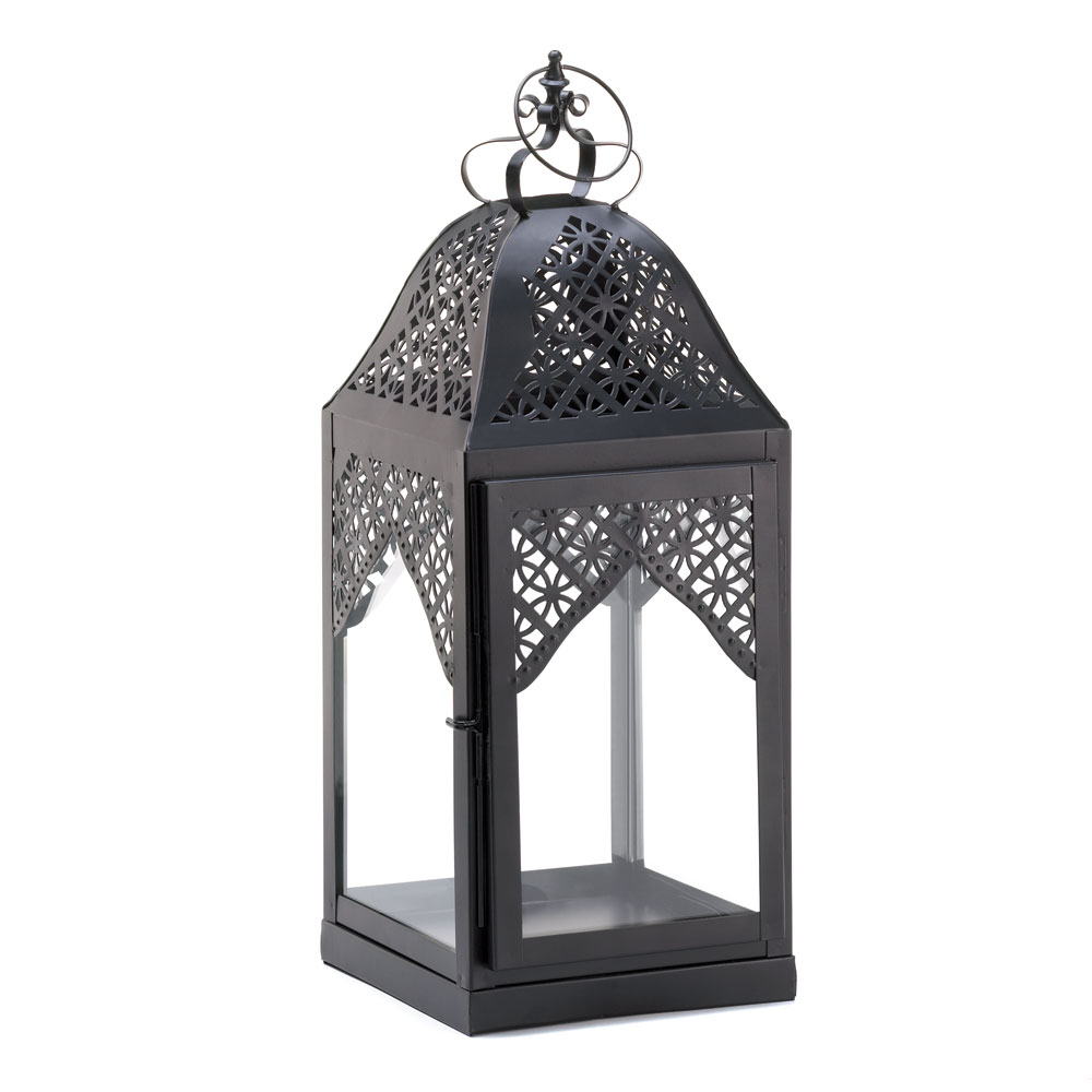 Large steeple candle lantern wholesale at koehler home decor for Home ornaments