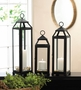 Lean & Sleek Candle Lantern Xl