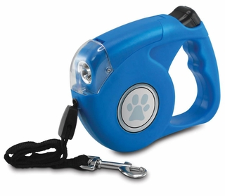 Lighted Retractable Dog Leash