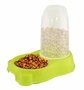 Lime Green Pet Feeder