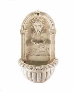 Lion Head Wall  Fountain