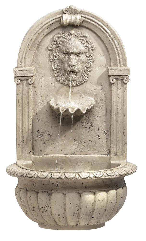 Lion Head Wall Fountain Wholesale At Koehler Home Decor