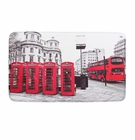 London Red Floor Mat
