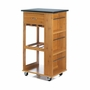 Marble-Top Kitchen Cart