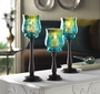 Mediterranean Candle Holder Trio