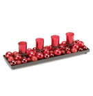 Merry Candle Centerpiece Display