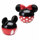 Mickey And Minnie Ceramic S&P Shaker Set