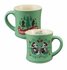Mickey & Minnie Holiday Mug