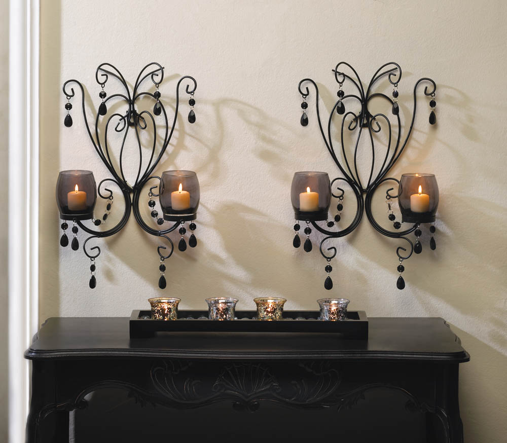 midnight elegance candle wall sconces wholesale at koehler home decor