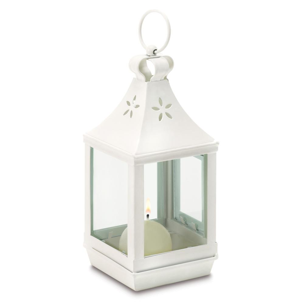 Mini cutwork garden lantern wholesale at koehler home decor for Cheap household accessories