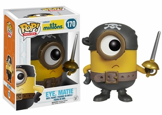 Minions Movie Eye Matie Pop! Vinyl Figure