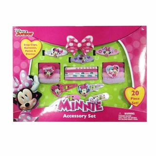 Minnie Mouse Accessory Box 20 Pc Set
