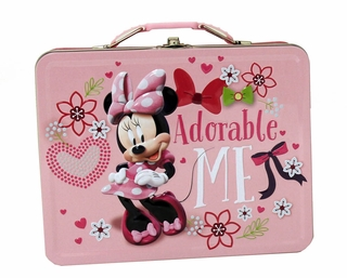 Minnie Mouse Adorable Me Tin Lunch Box