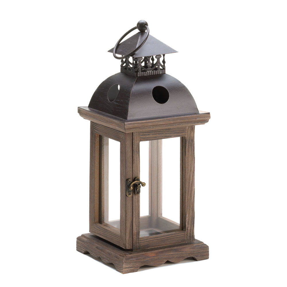 Monticello wood lantern at koehler home decor for Cheap decorative items