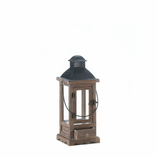 Mount Vernon Wooden Lantern - Small
