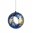 Multi Color Glass Bird Feeder