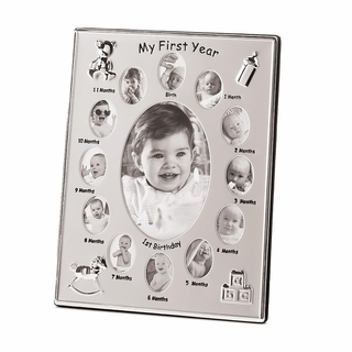 My First Year Photo Frame
