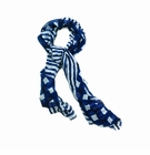 Navy Vogue Fashion Scarf