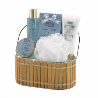Night Rose & Sandalwood Bath Gift Set
