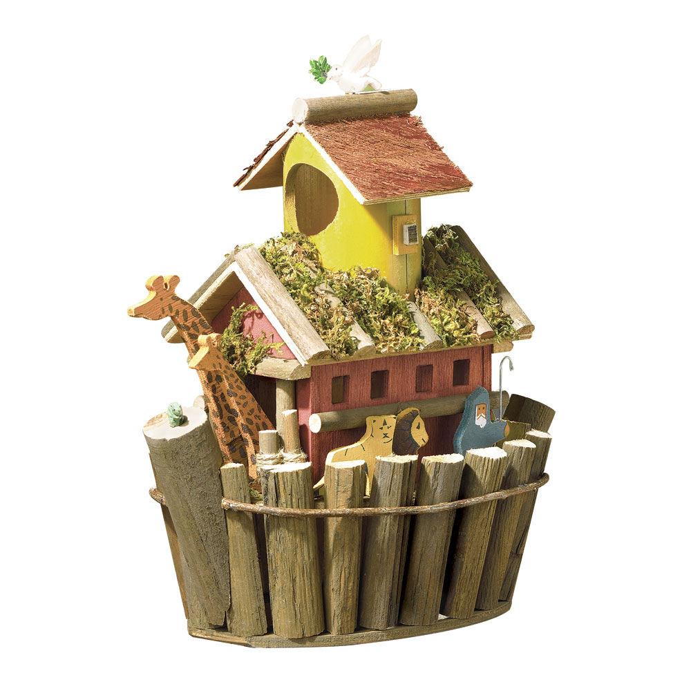 noah's ark bird house wholesale at koehler home decor