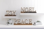 Noel Block Letter Decor