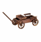 Old World Planter Wagon