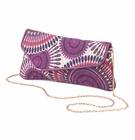 Orchid Clutch Purse