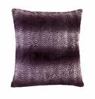 Orchid Ombre Faux Fur Pillow