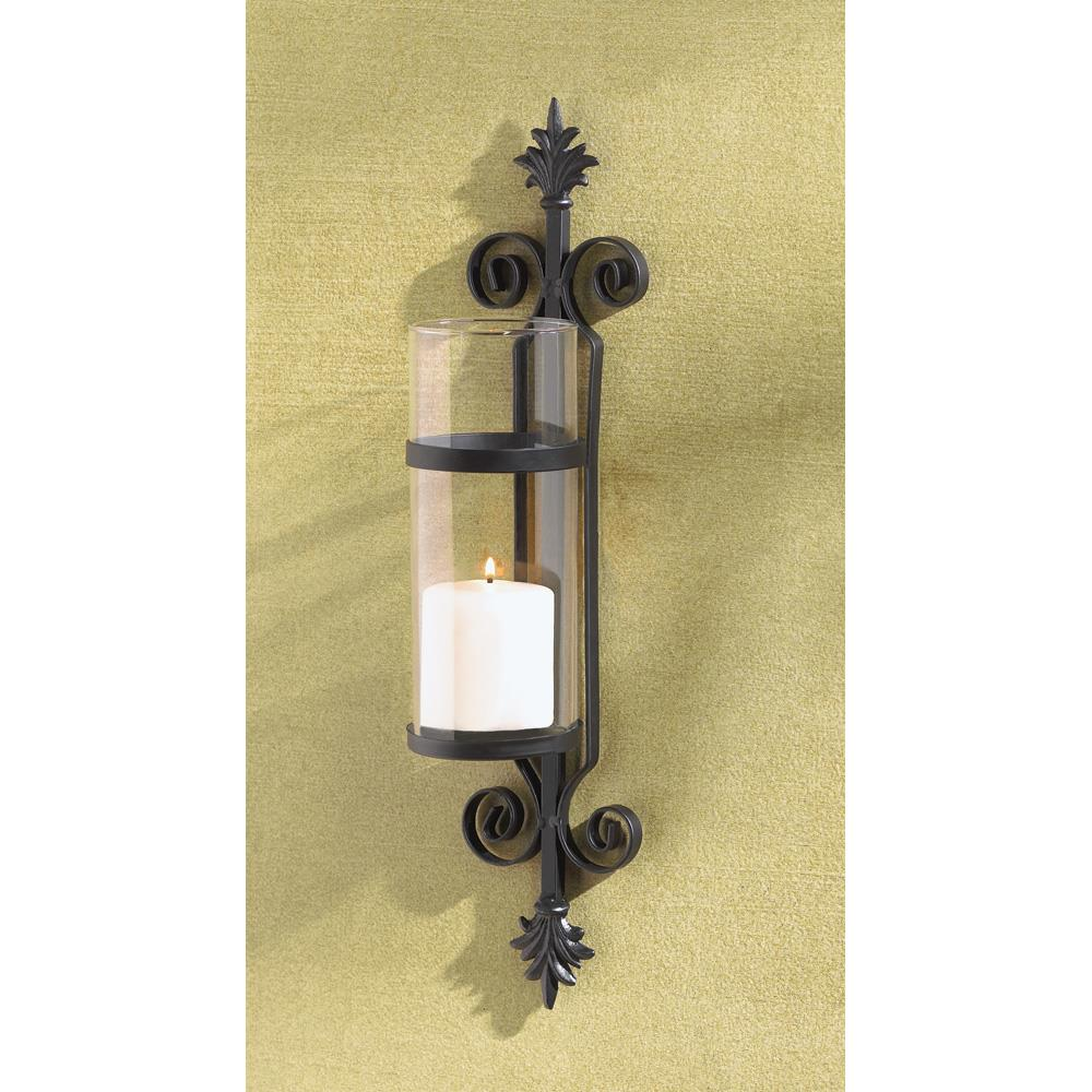 Ornate Scroll Candle Sconce Wholesale at Koehler Home Decor