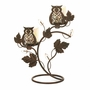 Owl Duo Votive Stand