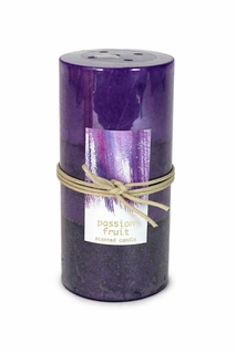Passion Fruit Pillar Candle 3X6