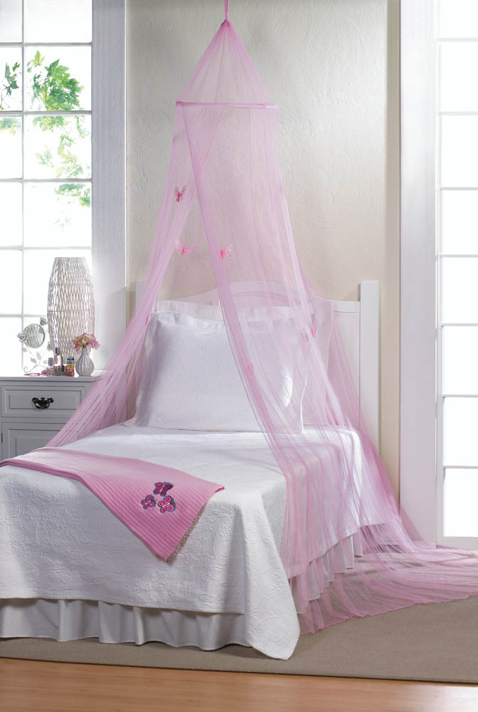 Pink Butterfly Bed Canopy Wholesale At Koehler Home Decor