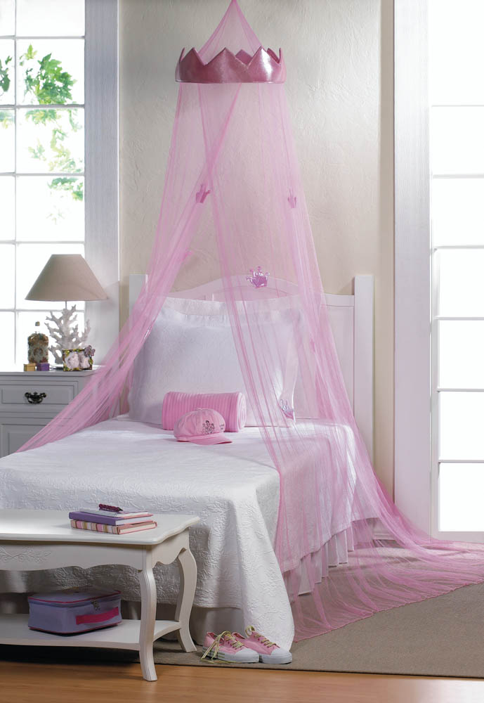 pink princess bed canopy wholesale at koehler home decor. Black Bedroom Furniture Sets. Home Design Ideas