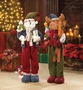Plush Moose Holiday Decor