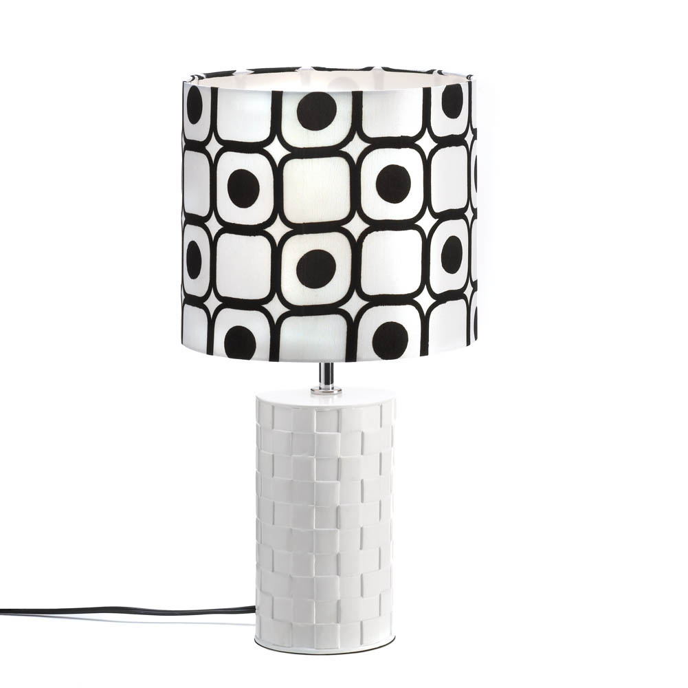 pop art table lamp wholesale at koehler home decor. Black Bedroom Furniture Sets. Home Design Ideas
