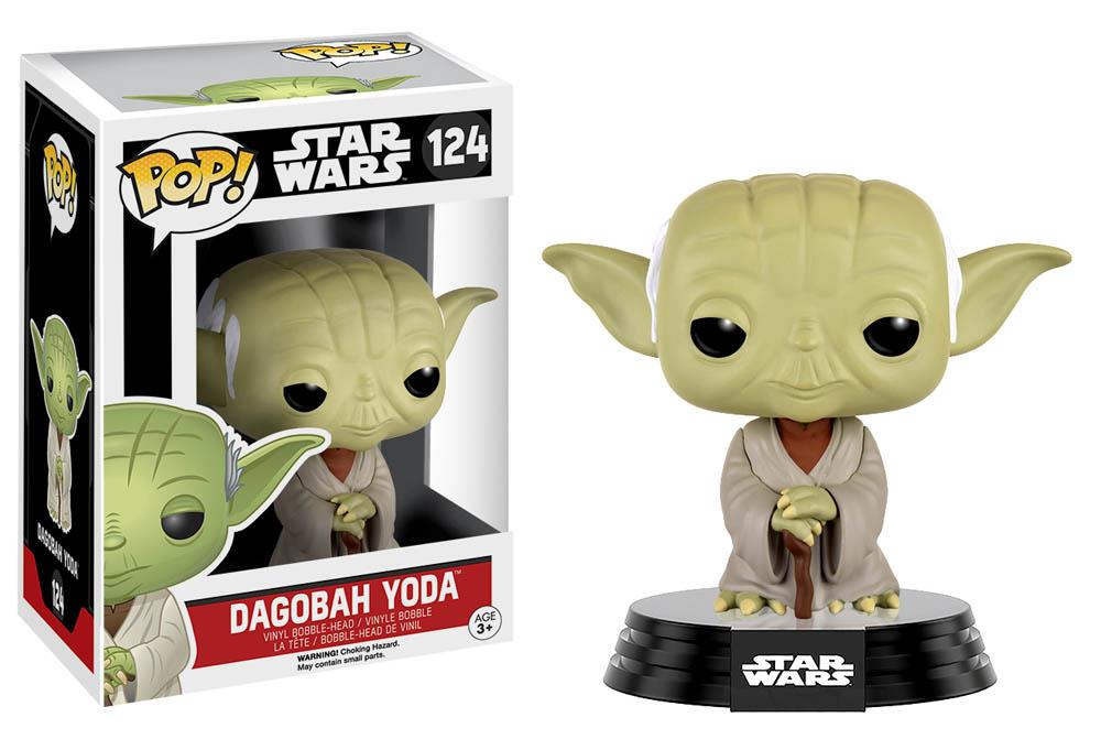 Pop STAR WARS: Dagobah Yoda Bobble-Head