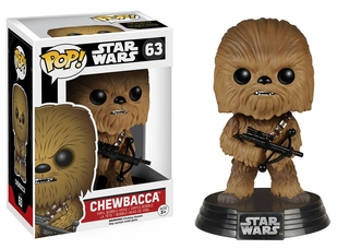 Pop Star Wars: Ep7 - Chewbacca Bobble