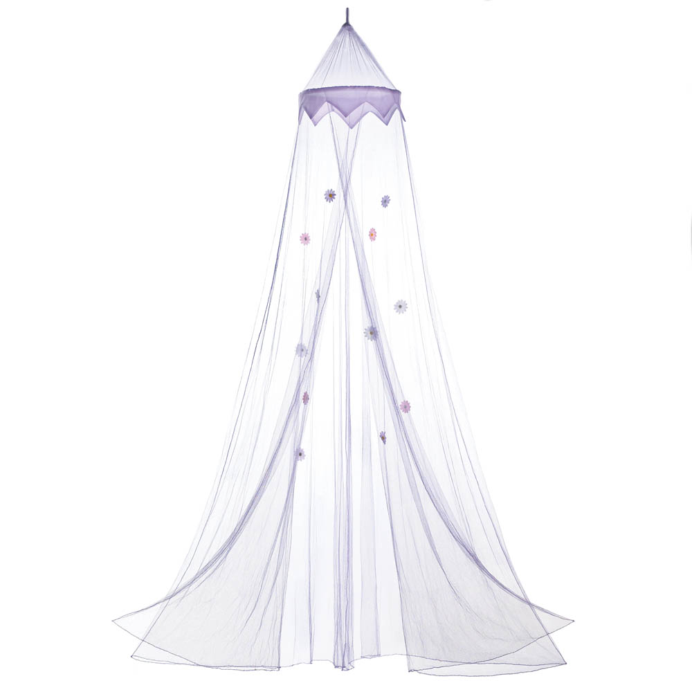 purple posies hanging bed canopy wholesale at koehler home decor