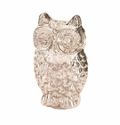 Quilted Owl Figurine