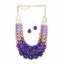 Radiant Orchid Jewelry Set