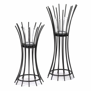 Reed Candle Holders Duo
