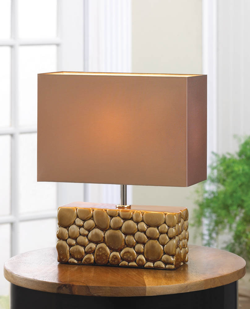 Wholesale Home Decor: River Rock Table Lamp Wholesale At Koehler Home Decor