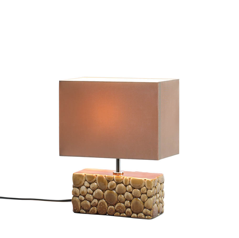 River rock table lamp wholesale at koehler home decor for River rock lamp